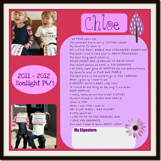 Interview Chloe