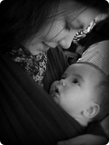 Boba Sleepy Wrap Babywearing