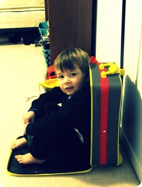 Boy in a Suitcase
