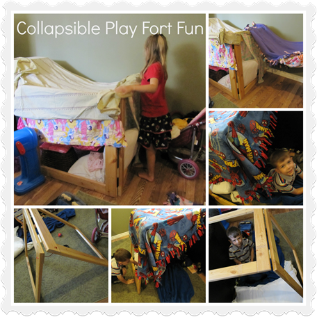 Collapsible Play Fort