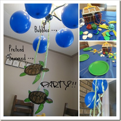 Turtle Table Decor