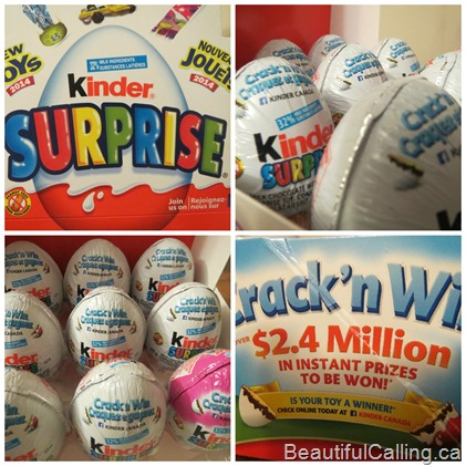 Kinder Crack'n Win
