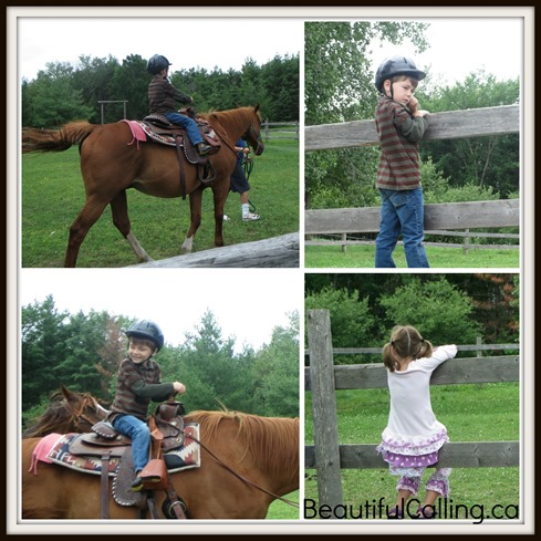 Camp Horseback Riding