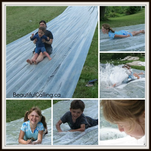 Camp Slip and Slide