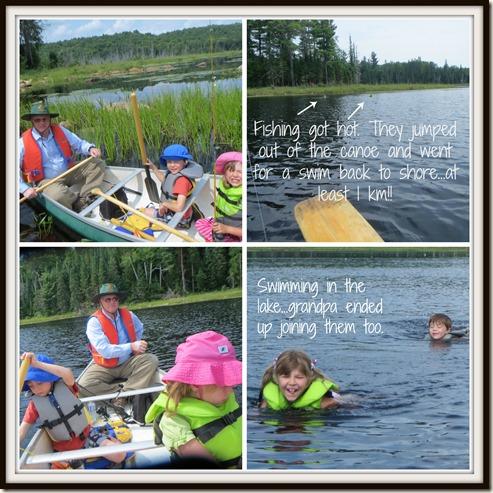 Grandparents Canoe 2014