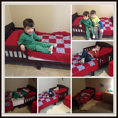Toddler Transition From Crib To Bed A Bed For A Boy Crib